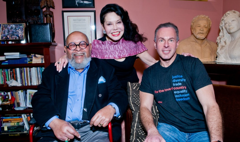Devin Wenig with Cecil and Janice, the founders of GLIDE