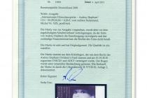 Zertifikat_Audrey_Hepburn-Marke
