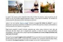 Gli italiani e lo sport secondo eBay