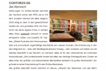 Haendlerportrait Contor23 UG2