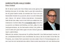 Haendlerportrait Uhrenatelier Halle GmbH