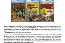 I fumetti di Wonder Woman in vendita su eBay