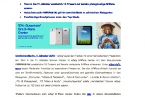 eBay B Ware Coupon Pressemitteilung