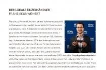 eBay Haendlerportrait Franziskus Weinert