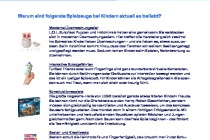 eBay Spielzeug Report Interview Psychologin