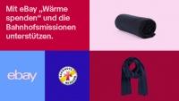 eBay spendet Wärme: Aktion zugunsten der Bahnhofsmission