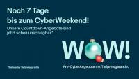 Pre-Cyberweek Angebote: Bereits bis 22. November Top-Deals und Rabatte bei eBay