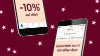 Nur heute bis 18 Uhr: 10 Prozent auf alles in der eBay App