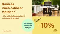 Heimwerker, aufgepasst: bei eBay 10 Prozent für die neue Gartensaison sparen