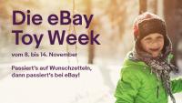 Die eBay Toy Week: Spielzeugtrends 2018, einzigartige Geschenke und 20 Prozent Rabatt auf Spielzeug