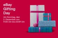Am 2. Dezember ist eBay Gifting Day: Sparen beim Geschenkekauf, kostenlose Produkte und einzigartige Geschenke für einen guten Zweck