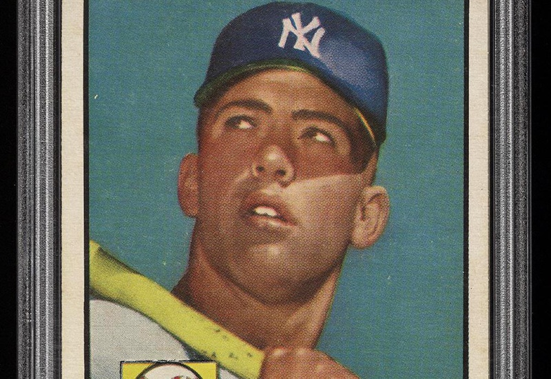 Near Mint 1952 Mickey Mantle Baseball Card May Set Record For