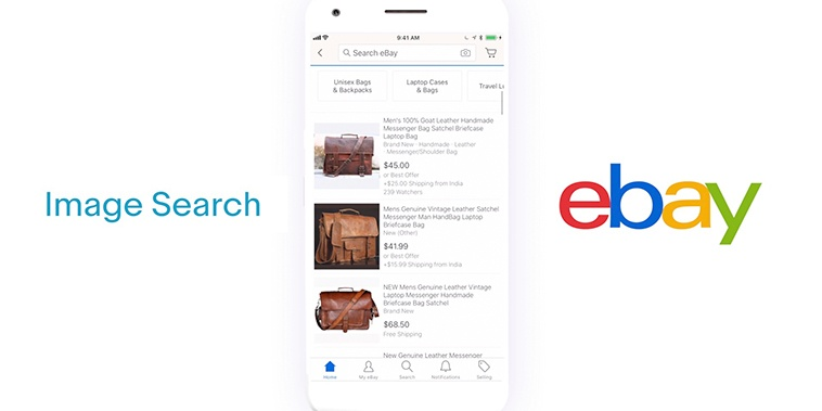 An Easier Way To Search Ebay Computer Vision With Find It On Ebay And Image Search Is Now Live