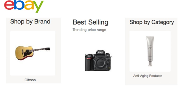 New Browsing Modules Leverage Ebay S Structured Data To Better Serve Online Shoppers