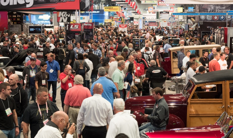 More than 140,000 attendees participated in the auto show.