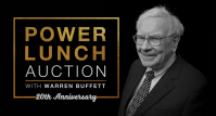 GLIDE's 20th annual eBay for Charity Power Lunch with Warren Buffett Sold for a record-breaking $4,567,888