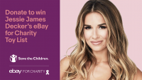 Jessie James Decker Partners With eBay to Curate The Ultimate Holiday Toy List for Charity to Benefit Save the Children