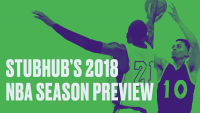 StubHub Releases Second Annual NBA Season Preview: Lakers Demand Skyrockets with LeBron Arrival