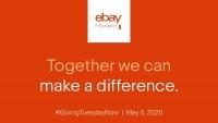 eBay Celebrates #GivingTuesdayNow, Extends $1 Million Charity Matching Program Through May 31
