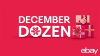 eBay Launches 12 Days of Incredible Savings with the 'December Dozen'