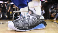 Stephen Curry�s Custom 'Moon Landing' Shoes Help Raise $58,100 to Bring STEM Initiatives to San Francisco Bay Area Schools