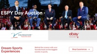 eBay for Charity and ESPN Announce Annual ESPY Day Auction