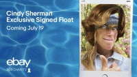 eBay for Charity Makes a Splash with Signed Pool Float by Artist Cindy Sherman
