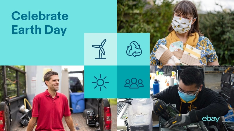 Celebrate Earth Day with eBay Sellers