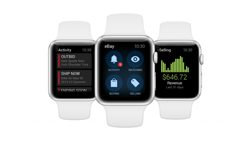 Ebay Unveils Apple Watch App Along With Updated Mobile Apps