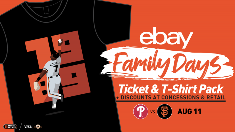 eBay and the San Francisco Giants Invite Families Out to the