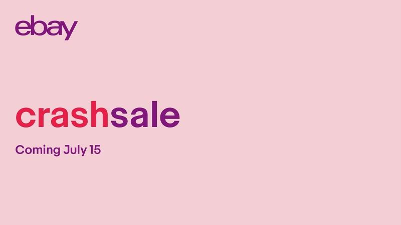 eBay Announces July 15 Crash Sale
