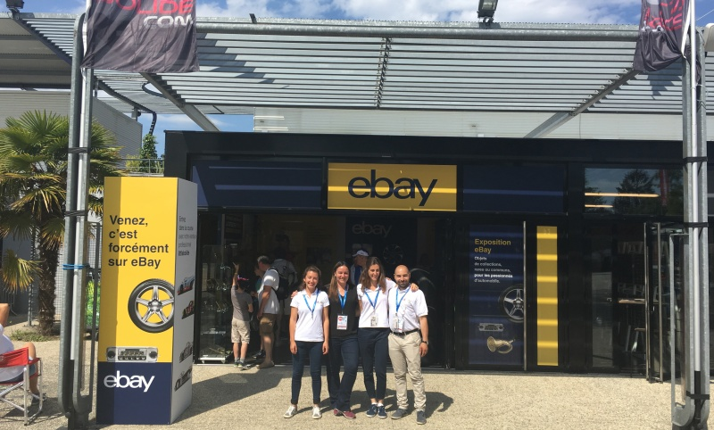 Ebay France Opens A Pop Up Store At The World S Oldest Car Race