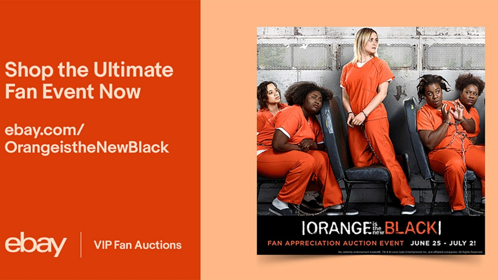 Ebay Launches Exclusive Sale For Orange Is The New Black Mega Fans